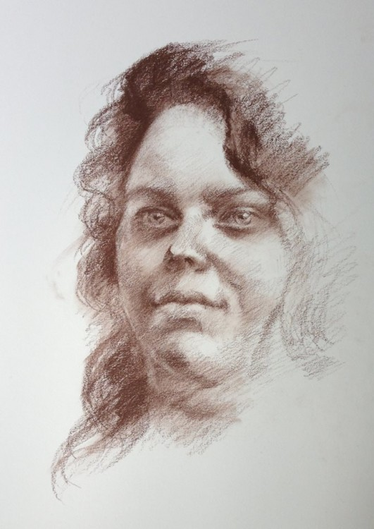 Portrait in Pastel