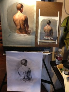 Study, Drawing and painting