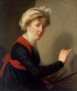 Elisabeth Vigée-Lebrun, Self-Portrait