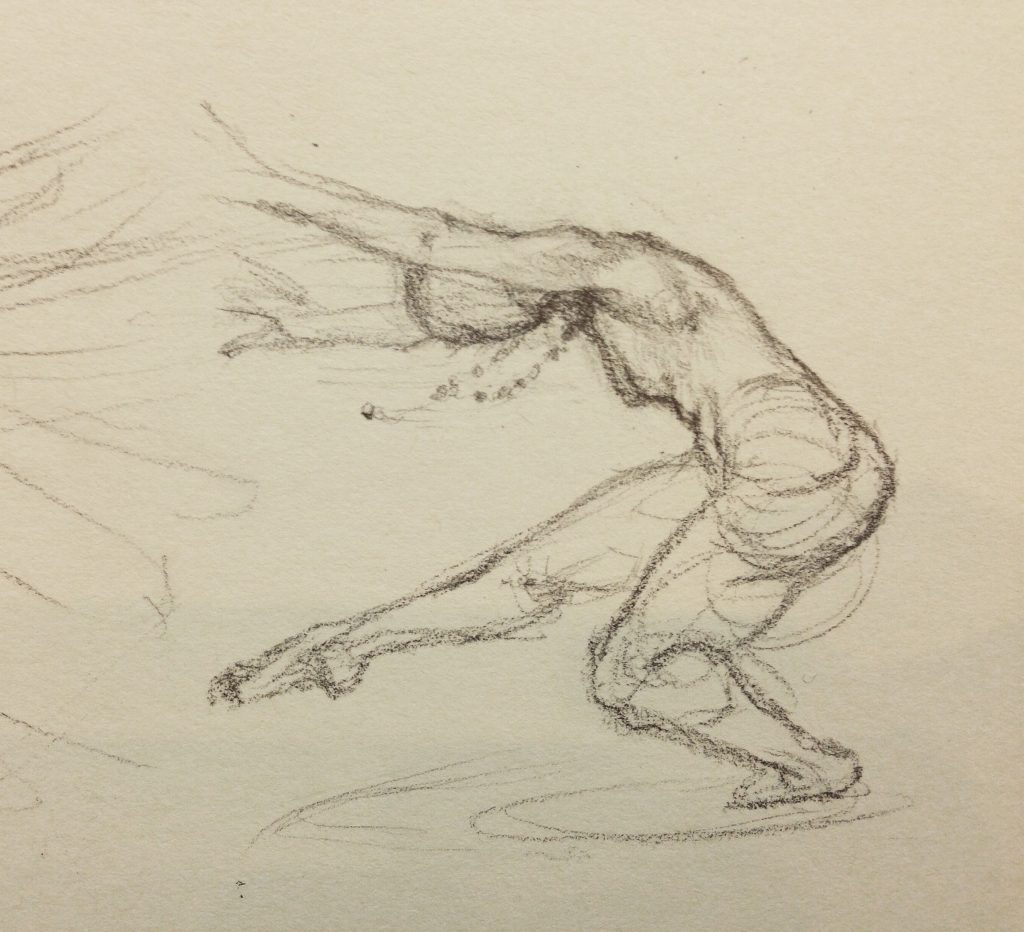Sketch of a Dancer